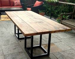 outdoor metal table. Beautiful Metal Outdoor Tables Metal On Outdoor Metal Table E