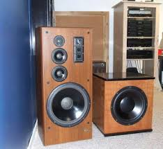infinity home theater speakers. vintage speakers in my 5.2 home theater - a pair of 15\ infinity f