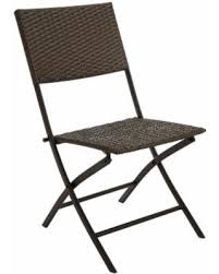 wicker folding chairs. Outdoor Garden Oasis Wicker Folding Chair *Limited Availability, Brown Chairs