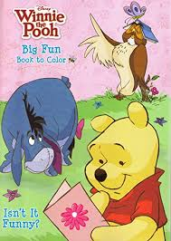 Winnie The Pooh Coloring Book 2 Pack Toys Games
