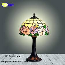 table lamps with glass shades stained glass table lamps stained glass table lamp style bedside lamp