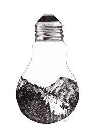 Perfume On Light Bulb Light Bulb Moment Entering The Rocky Mountains Shelby Margaret Art