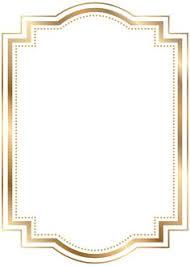 gold frame border png. Border Frame Gold Transparent Clip Art Png