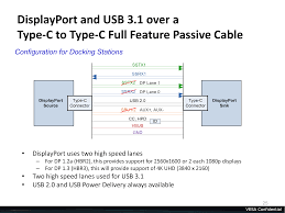 displayport alternate mode for usb type c announced video power meanwhile since dp alt mode means that type c carries native displayport signaling this enables several different interoperability options other