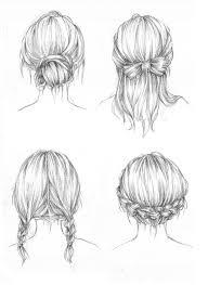 Sketch Of Hair Styles