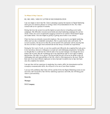 What To Include In A Recommendation Letter For Grad School Letter Of Recommendation For A Graduate School 5 Sample