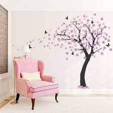 cherry blossom wall decal be equipped wall stickers uk be equipped