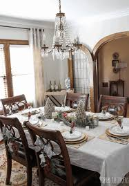 dining room day table setting ideas hall decoration 42 inch round wood bead chandelier