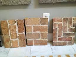 faux brick floor tile wow it sure looks like the real thing and its perfect color
