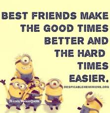 Serious Quotes About Friendship Inspiration Top 48 Famous Minion Friendship Quotes Quotes And Humor