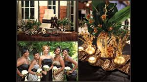 safari theme wedding. African themed wedding decorations ideas YouTube
