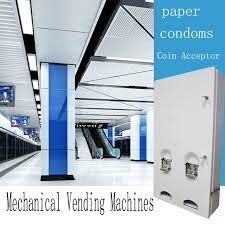 Paper Vending Machine Extraordinary China Most Popular Mechanical Condoms And Paper Vending Machine