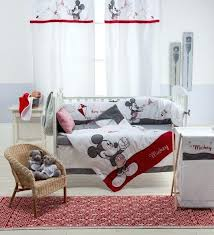 minnie mouse crib bedding baby bedding sets red mouse 4 piece crib bedding set baby nursery