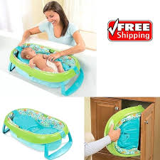 toddler bath tub inflatable baby infant toddler bath tub compact folds storage extra soft travel toddler toddler bath tub