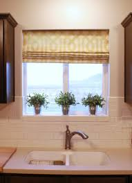 Roman Blinds For Kitchens 2017 Kitchen Roman Shades On Blinds Will Require A Separate Head