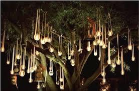 hanging tree lighting outdoor gazebo chandelier solar lights to hang in trees hanging tree lights