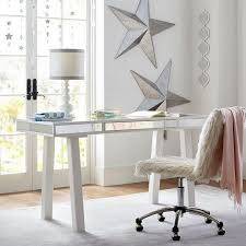 white desk with drawers and mirror. Unique And In White Desk With Drawers And Mirror L