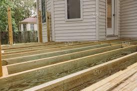 wooden porch terrace flooring