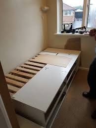 Bed Frame Built And Strengthened