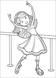 Ballet Kleurplaat Jouwkleurplaten