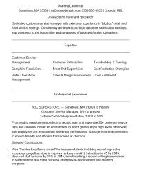 Customer Service Supervisor Resume Amazing 48 Free Customer Service Supervisor Resume Samples Sample Resumes