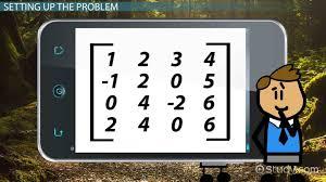 how to find the determinant of a 4x4 matrix lesson transcript study com