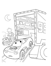 free printable lightning mcqueen coloring pages for kids best free