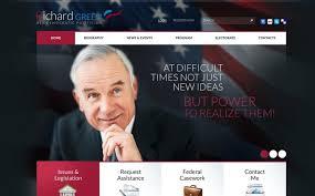 Political Website Templates Political Candidate Website Template