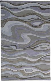 surya modern classics light gray bluegray rug