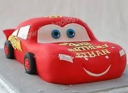 Mcqueen Car Cake Form Tool 3d Car Pan Aluminium Baking Mold Fondant