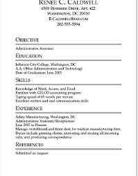 Student Resume Objectives Interesting College Resume Examples For Highschool Students School Sample High