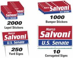 political campaign bumper stickers promotional political items political campaign items kits