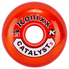 Konixx Catalyst2 Roller Hockey Wheel Red