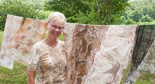 In the Studio: Eco Printing with Kathy Hays - John C. Campbell Folk School  Blog