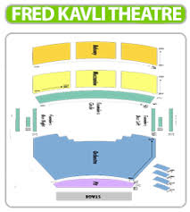 Thousand Oaks Performing Arts Center Seating Chart Caesars Palace Colosseum Chart Images Online