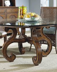 round glass top coffee table with wood base glass coffee table with stone base