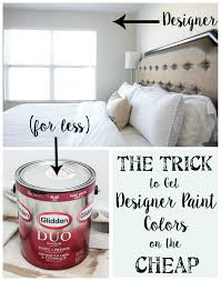 designer paint colorsThe Trick to Get Designer Paint Colors on the Cheap