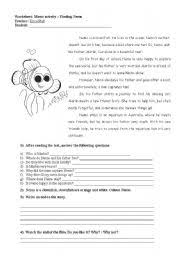 furthermore 4th grade Movie Guides Resources   Lesson Plans   Teachers Pay furthermore The Science of Finding Dory Movie Worksheet   Worksheets  Students together with Finding Nemo Worksheet Free Worksheets Library   Download and furthermore Finding Nemo  plete Science   Literacy Movie Activity Pack also English teaching worksheets  Finding Nemo additionally Free Math Worksheets and Workbooks   edHelper moreover English teaching worksheets  Finding Nemo moreover Finding Nemo Worksheet Free Worksheets Library   Download and besides Nemo Themed Lab Safety and Scientific Method Practice Sheets in addition The Science of Finding Dory Movie Worksheet by sventresca. on finding nemo worksheet high school