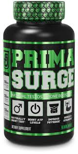 primrge testosterone booster for men boost lean muscle growth strength energy fat loss natural test booster supplement w premium primavie