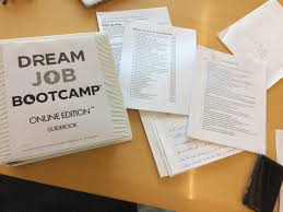 dream job bootcamp join day job to dream job after decades and decades in his day job he knew it was critical to create a smooth transition into his dream job
