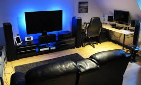 Living Room Pc Gaming Cool Design Ideas
