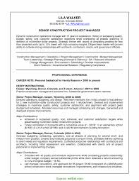 Useful Construction Project Controls Manager Resume Cover Letter