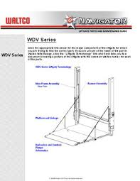 waltco wdv series liftgate by the liftgate parts co issuu page 1