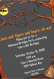 Free Halloween Birthday Invitation Templates Halloween Invitation Templates 650 943 Invitation