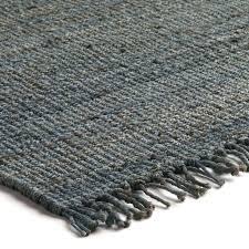 black and white flat weave rug flat woven rug blue
