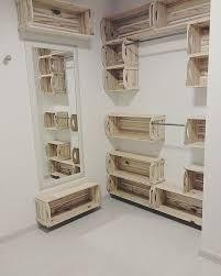pallet box shelf