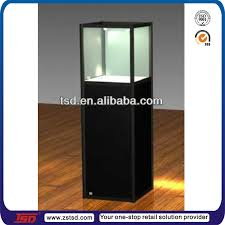 Free Standing Display Cabinets Tsdw100 Factory Custom Floor Standing Wood Glass Jewelry Display 91