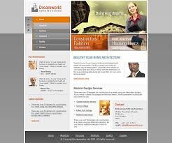 full flash website templates for construction company