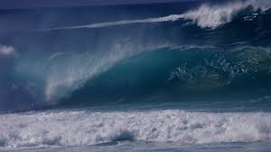 Tsunami wave is nondispersive, and its velocity depends only on gravity g and water depth d, as the velocity is given by. Sound Waves Can Help Early Tsunami Detection Bbc News