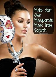 fabulous diy make your own masquerade mask from scratch